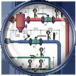 Проектирование, монтаж тепловых элеваторных узлов с приборами учета тепловой энергии